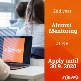 Applications for Alumni Mentoring for the Academic Year 2020/2021 Are Open Until September 30