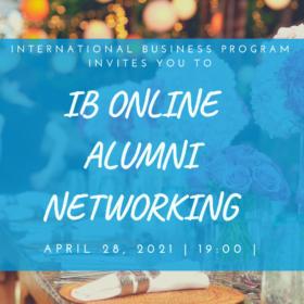 IB Alumni Networking – online – April 28, 2021
