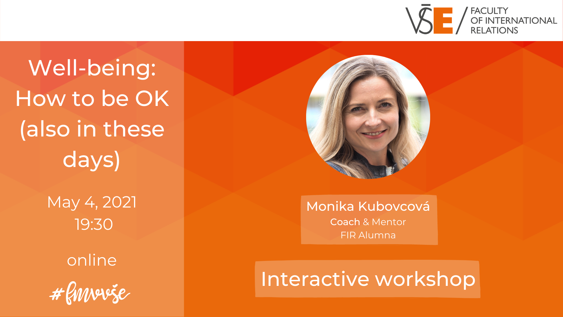Well-Being Workshop: How to Be Ok (Also in These Days)